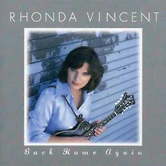 Rhonda Vincent - importation USA Back Home Again [CD]