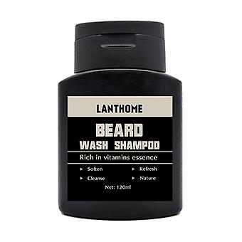 Beard Shampoo - Anti Dandruff, Nourishing, Moisturizing Facial Oil Cleanse
