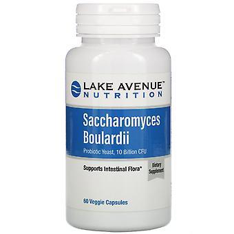 Lake Avenue Nutrition, Saccharomyces Boulardii, Probiotic Yeast, 10 Billion CFU,