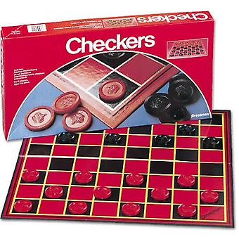 Games - Pressman Toy - Checkers (Folding Board) New 1112-12