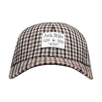 Jack Wills Petworth Checked Cap