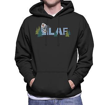 Disney Frozen Olaf Entouré d'arbres Men's Sweatshirt à capuchon