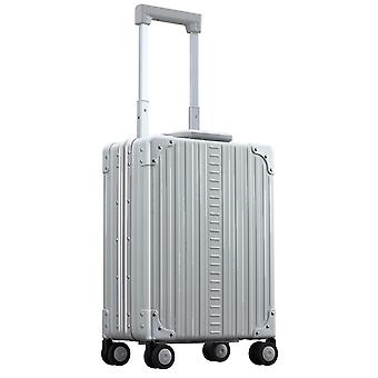 "ALEON Vertical Business Carry-On 20"" Kabinentrolley 50 cm 4 Rollen, Silber"