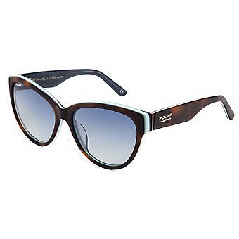 Sunglasses Women's Cindy Polarized Flamed Brown/Blue (pcin420)