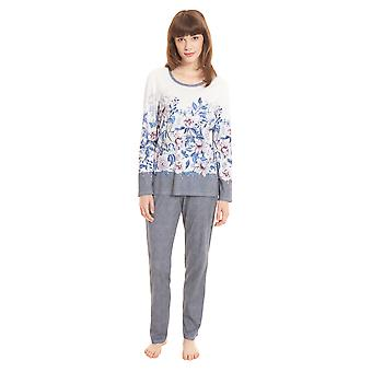 Rösch New Romance 1203629-16412 Women's Placed Print Floral Pyjama Set