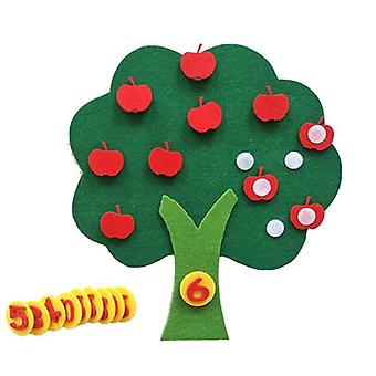 Durable Digital Cognitive Child Montessori, Education Apple Tree