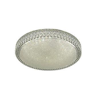 Searchlight Flush - Integreret LED 1 Lys Dekorativ Flush Loft Light White