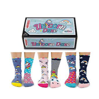 United odd socks unicorn daze socks