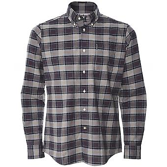 Barbour Tailored Fit Tartan 6 Camisa