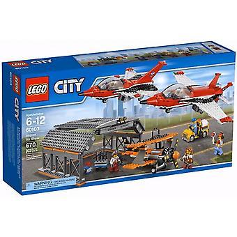 LEGO 60103 аэропорт воздушное шоу