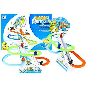 Penguin racer - children's toys - with sounds