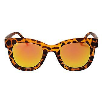 Cheapo Marais Sunglasses - Turtle Brown / Yellow Mirror