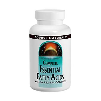 Source Naturals Complete Essential Fatty Acids, 120 Softgel
