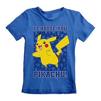 Pokemon Childrens/Kids I Choose You T-Shirt