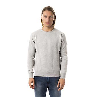 Uominitaliani Gr. Chiaro Light Grey Sweater