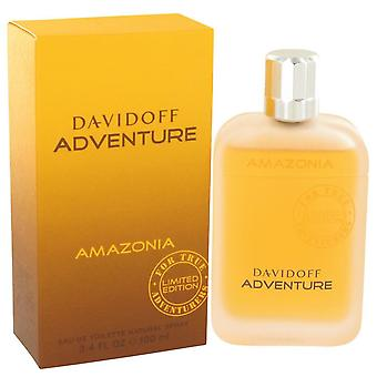 Davidoff Adventure Amazonia Eau De Toilette Spray By Davidoff 3.4 oz Eau De Toilette Spray