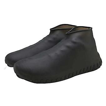 سيليكون قابلة لإعادة الاستخدام، غطاء مطر مقاوم للغبار، خطوة شتوية في حذاء مقاوم للماء