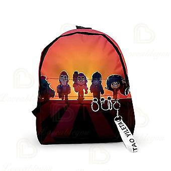 Star Game Schoolbags Cartoon,, Kids, Sandy Satchel Shoulder Bagpack