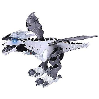 Electric Toy Large Size Walking Spray Dinosaur, Robot With Light Sound -toys