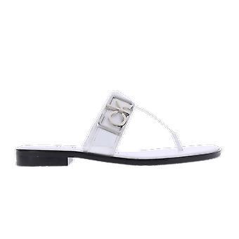 Calvin Klein Tamura Mule Logo White B4E79321100 shoe