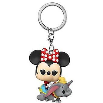 Disney 1955-Flyng Dumbo Ride W/Minnie USA tuonti