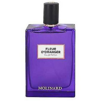 Molinard Fleur D'oranger By Molinard Eau De Parfum Spray (unisex Tester) 2.5 Oz (women) V728-550480