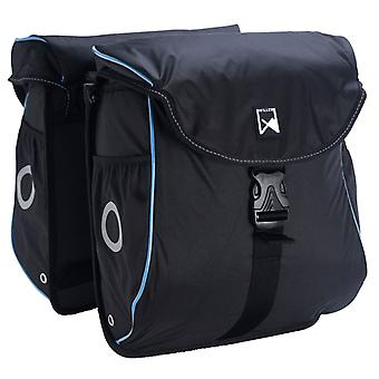 Willex Bicycle Bags 300 Flexi 24 L Black and Blue