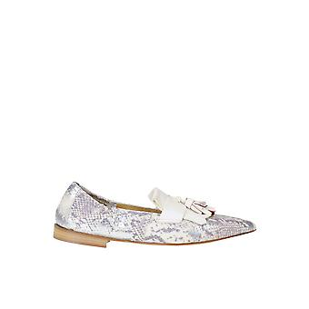 Viola Ricci Ezgl436003 Women's White Leather Loafers