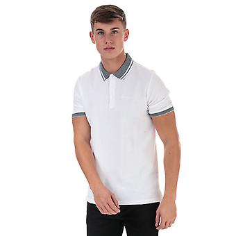 Men's Ben Sherman Vögel Augenkragen Polo Shirt in weiß