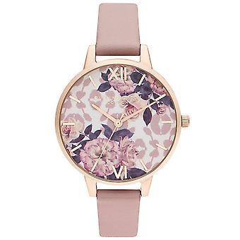 Olivia Burton Ob16lp03 Wild Flower Vegan Rose & Pale Rose Gold Ladies Watch