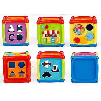 Multifunctional Electronic Musical Box Toys For Baby Geometric Educational Toys