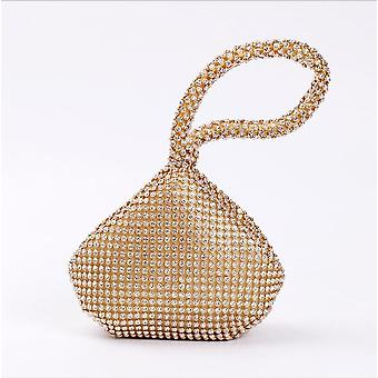 Soft Women Evening Bags, Diamond Rhinestones Clutches, Crystal Wedding Party