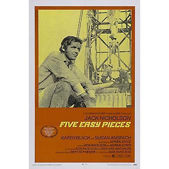 Five Easy Pieces film plakatutskrift (27 x 40)