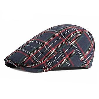 Fashion Fine Stripe Lattice Berets Hat