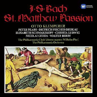 Otto Klemperer - Bach: St. Matthew Passion [CD] USA import