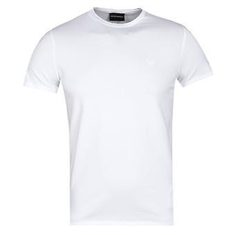 Emporio Armani White Eagle Logo T-Shirt