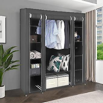 Ingle Dormitory Dustproof Clothing Storage Folding Clothing Closet 172x134x43