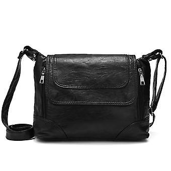 Leather Shoulder Crossbody Bag, Messenger Handbags
