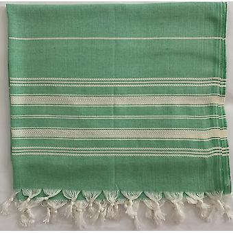 Aqua Perla Lato Breeze Turecki Ręcznik Zielony Peshtemal Bawełna