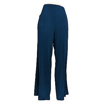 Joan Rivers Classics Collection Mujeres's Pantalones Palazzo Azul A309245