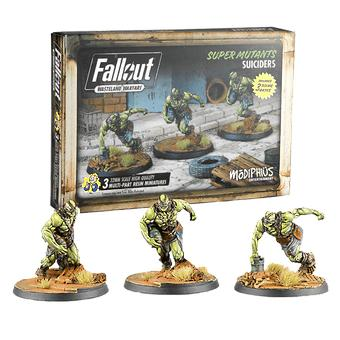 Fallout Wasteland Warfare Super Mutants Suiciders