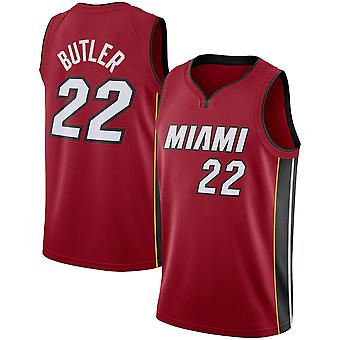 Miami Heat No.22 Jimmy Butler Loose Basketball Jersey Sportshirts 3QY013