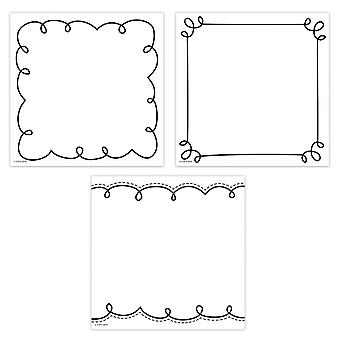 "Loop-De-Loop Cards 6"" Designer Cut-Outs, Pack Of 36"