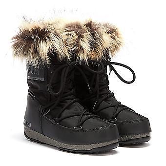 Moon Boot Monaco Low 2 Womens Black Boots