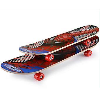 Dubbele Rocker Skateboard, Longboard Cartoon Skateboards Marple