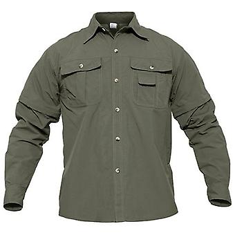 Men Hiking Shirt With Pockets