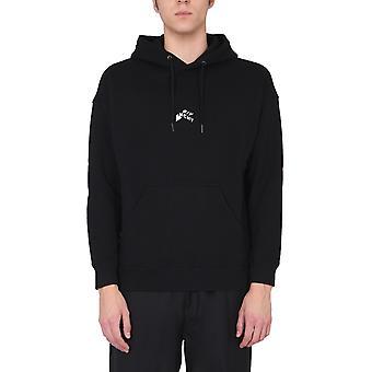 Givenchy Bmj09m305b001 Men's Black Cotton Sweatshirt