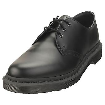 Dr. Martens 1461 Mono Smooth Mens Casual Shoes in Black
