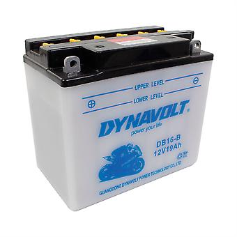 Dynavolt CB16B High Performance Battery With Acid Pack