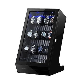 Luxury Remote Control Mechanical Watch Winder Box Automatic Display Mechanical